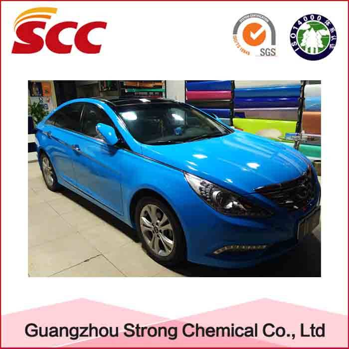 Factory Price 1k Reddish Blue Color Car Coating Paint