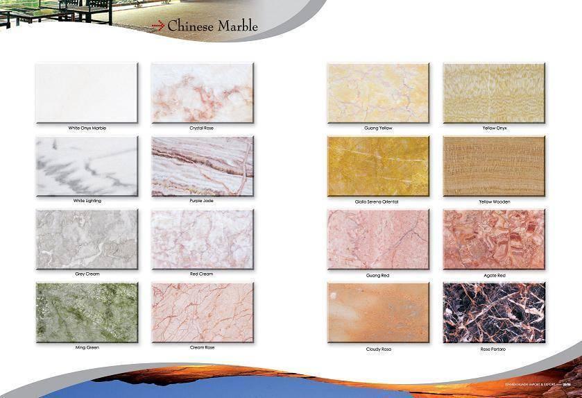 chinese Marble, tiles & slab, steps & riser