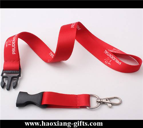 Wholesale sublimation printed logo 2*90cm yellow lanyard from china market