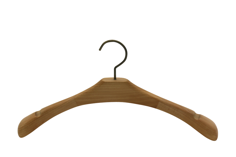 Norway  Oslo wooden padded hangers for sale