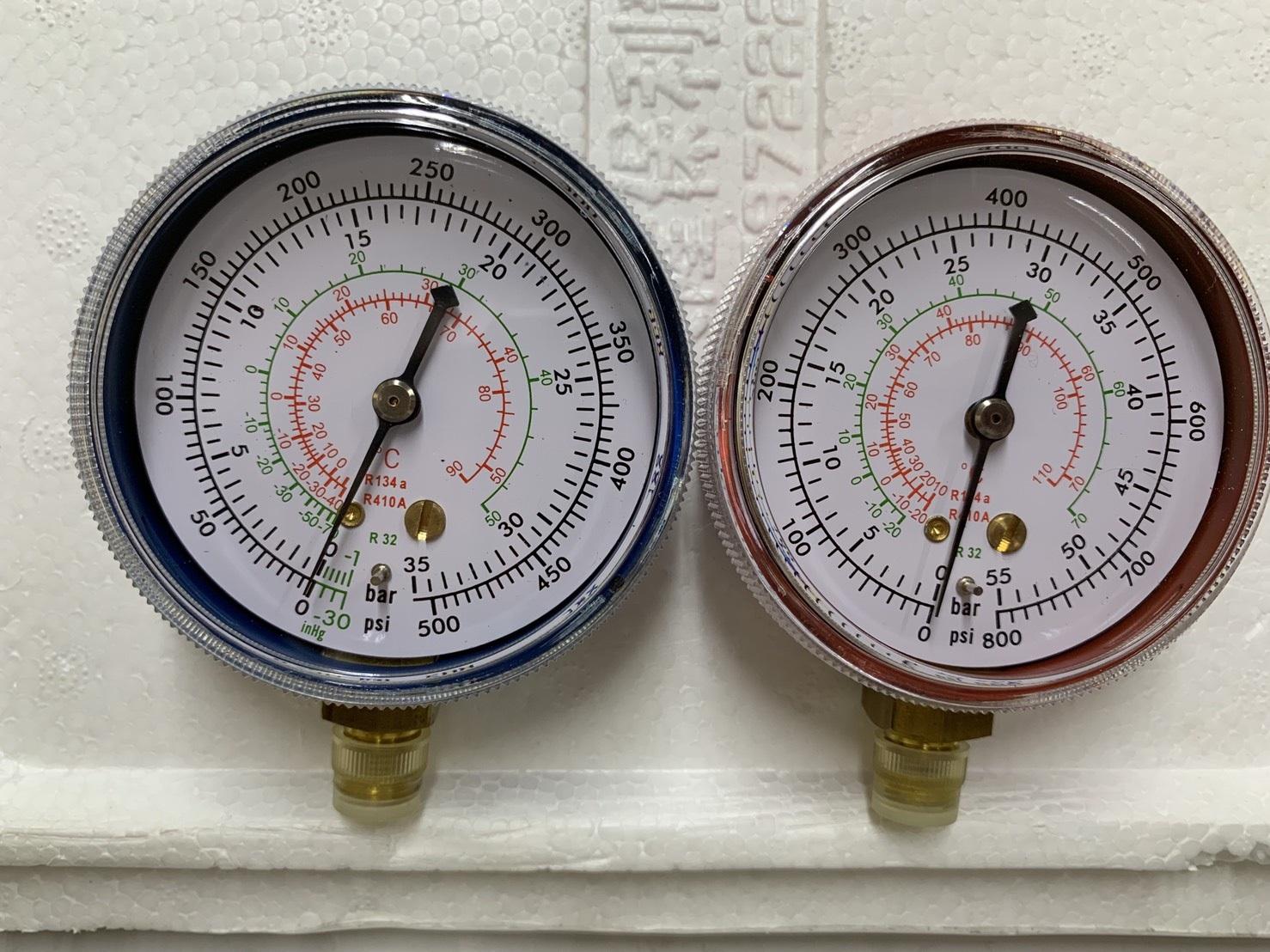 Compound Gauge & Pressure Gauge