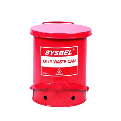 Oily Waste Can(10Gal/37.8L),SYSBEL