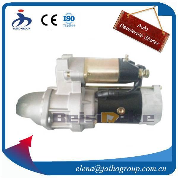 Starter Motor for Yammar 4TNV94L  3.0kW 9T S14-204  129940-77010