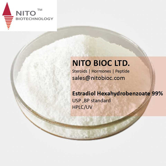 Hot Sell Strong Steroid Powder: Estradiol Hexahydrobenzoate with CAS NO:15140-27-9