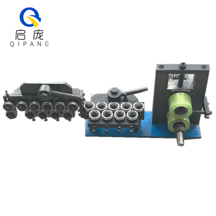 manual cable wire straightener , Aluminum / copper / welding wire straightening rollers