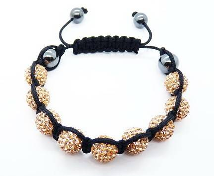 shamballa bracelet Monochrome Series #A21 champagne