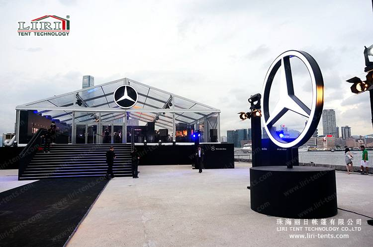 Custome Tents for Car Show BMW Product Launch