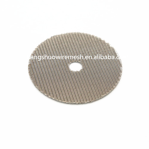 Round Wire mesh filters disc Wire Mesh Extrusion Screen Filters