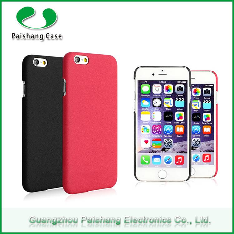 Quicksand design mobile phone case for Apple iphone accessories 9 colors PC material anti-scratch ba