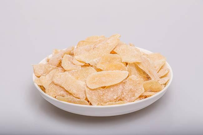 crystallized ginger slice