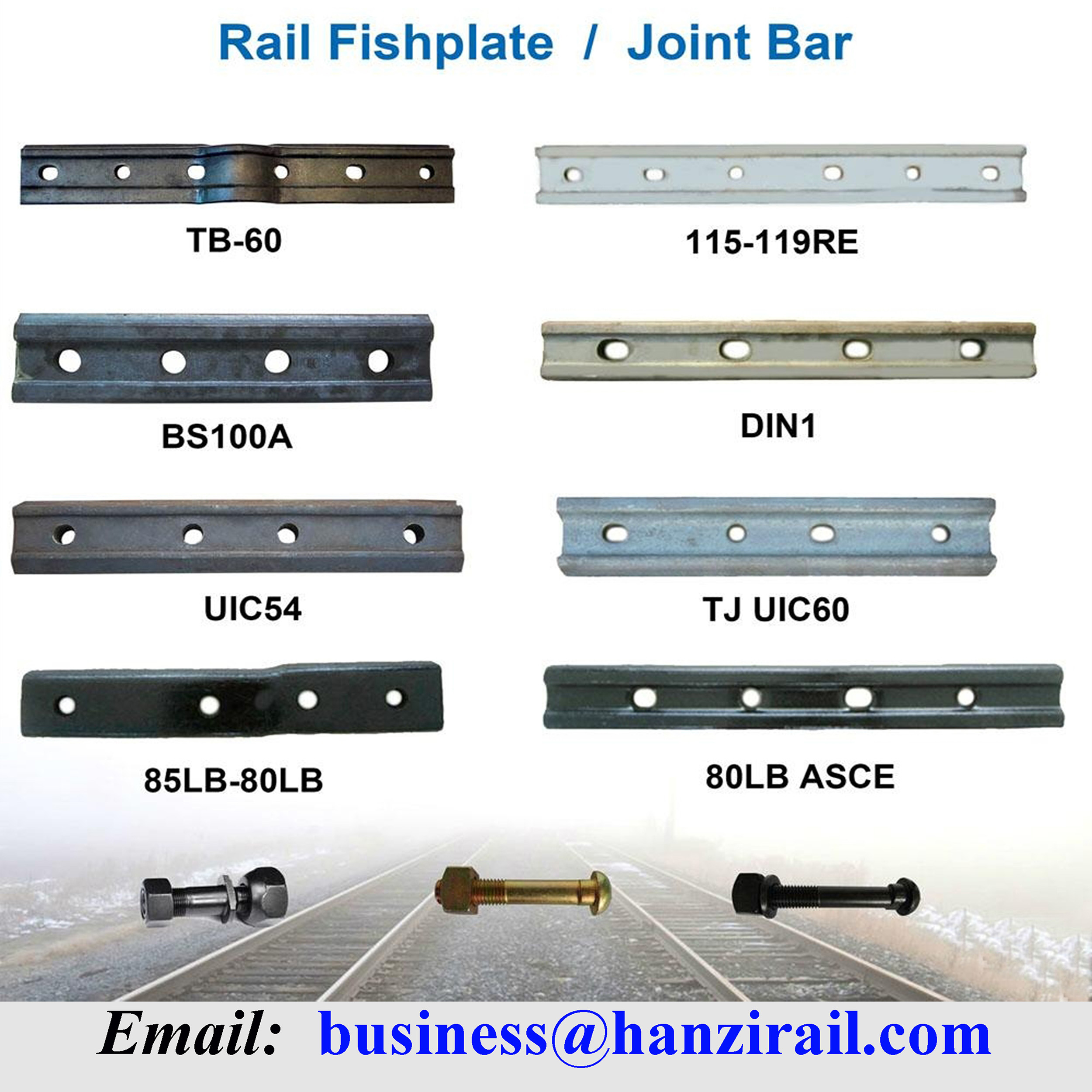 Railway Rail Joint Bar