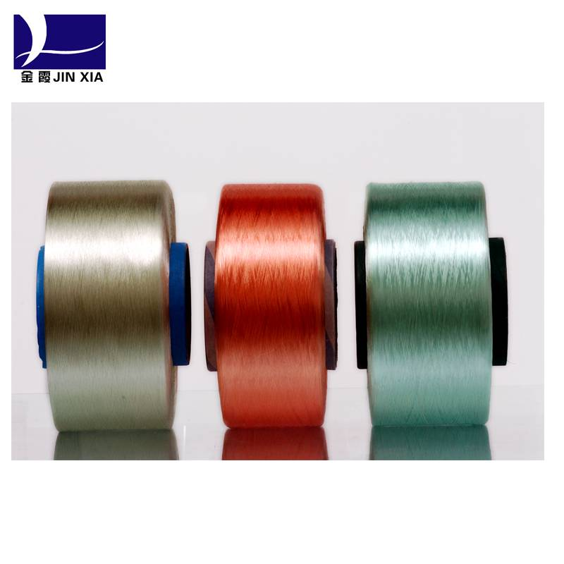 AA grade colored FDY 150D/48F 100% polyester yarn for weaving and knitting