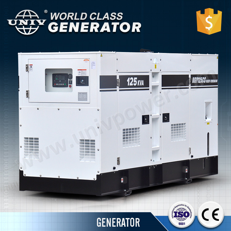 Denyo soundproof diesel generator set
