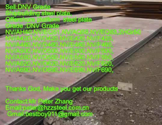 Sell :Shipbuilding steel plate,Grade,DNV/A500,NV/D500,NV/E500,NV/F500,API 5L 2HGr50 steel plate/shee