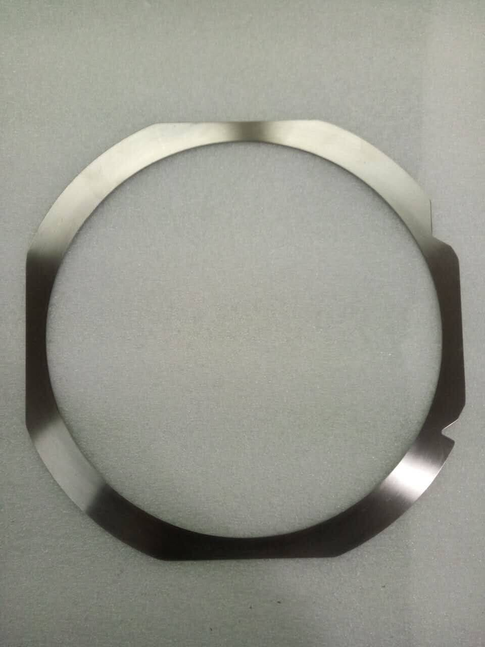 "Matt&Polish Metal Wafer Ring for 6"" to 12"" wafers"