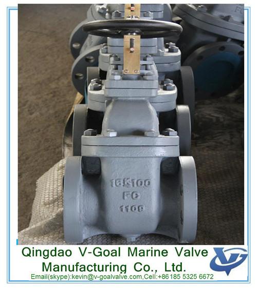 Marine Valve -V-Goal Marine Valve - Cast Iron Gate Valve 16K 50A JIS F-7369