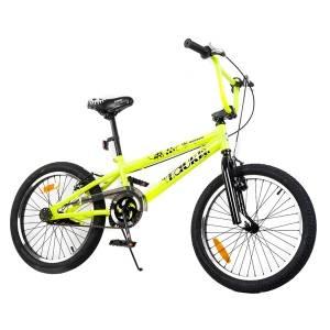 Tauki 20 Inch BMX Freestyle Boy Bike,Green