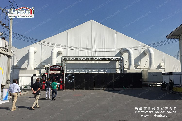 30m Width TFS Curved Roof Tent for Events