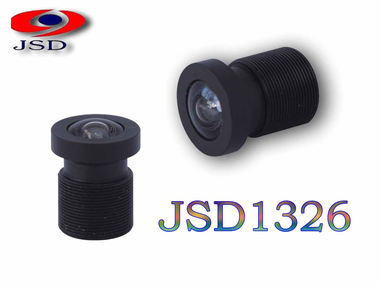 "JSD1326 1/2.3"" IMX117 16MPccd cctv camera lens for HD drone camera DAJ"