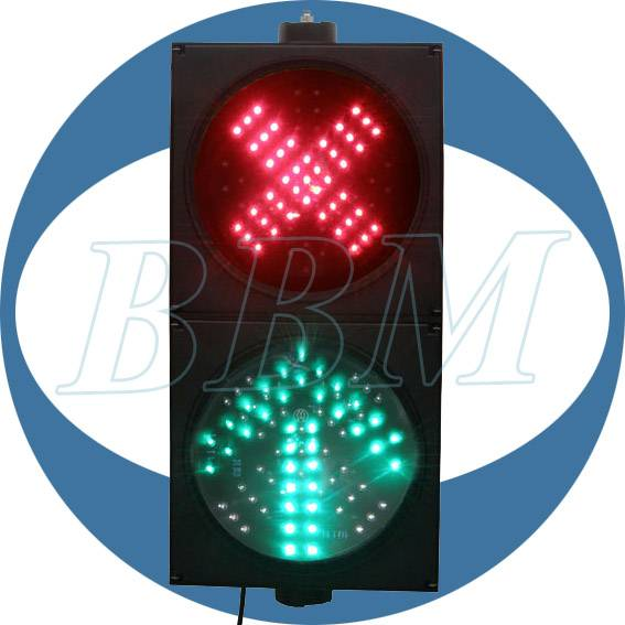 200mm red green access control traffic light