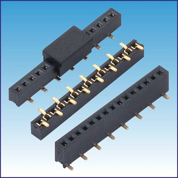 2.0mm female header SMT With cap