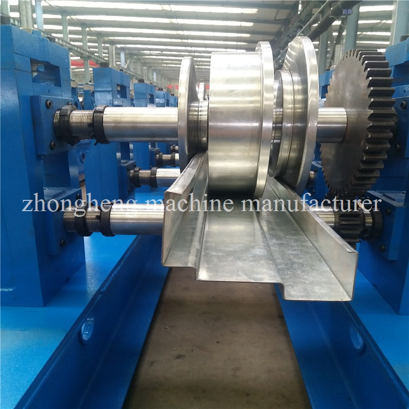 High Pressure Punching Metal Shutter Door Roll Forming Machine Approved CE