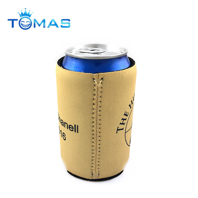 Premium custom rubber beer cozy neoprene can cooler