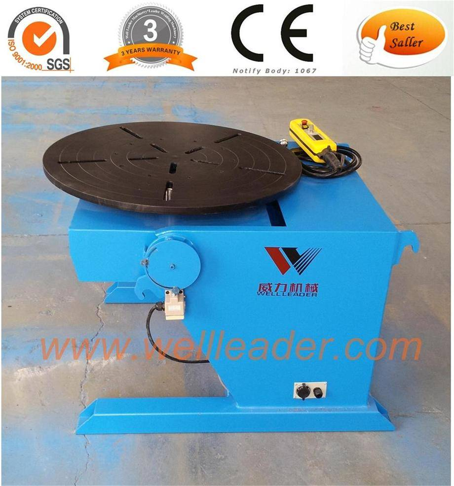 Welding positioner, turning table, rotary table, welding table, rotating table
