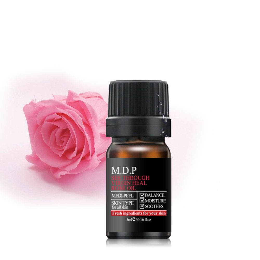 Korea Cosmetics Brand MEDIPEEL See Through Virgin Heal Rose Oil 12g