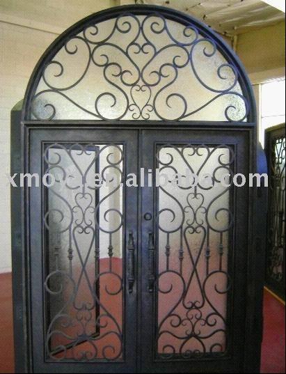 security wrought iron door