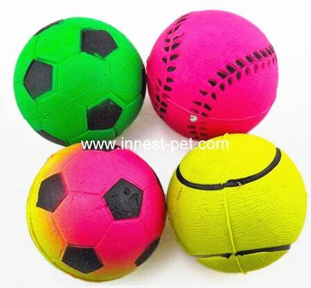 Hot Sales dog bouncing ball shining in the dark, Promotional Pet Dog Tennis Ball, Best Price OEM Foo