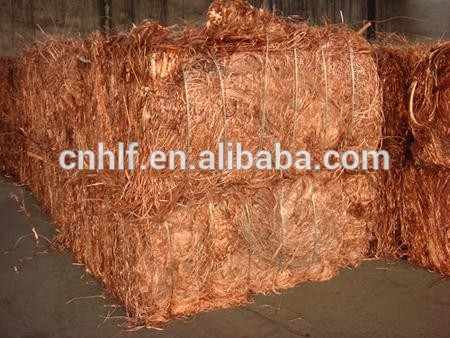 Copper wire scrap with high purity and quatiry