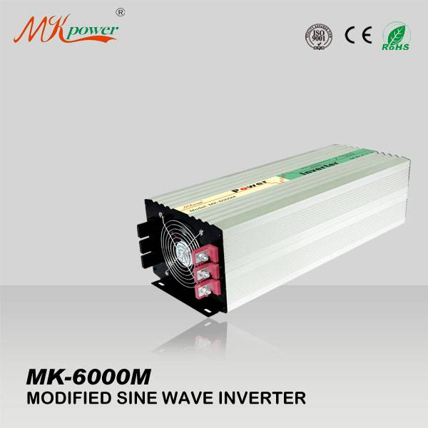 Shanghai solar power inverter 6000watt modified sine wave dc to ac inverter