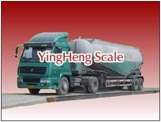Analog electronic truck scale