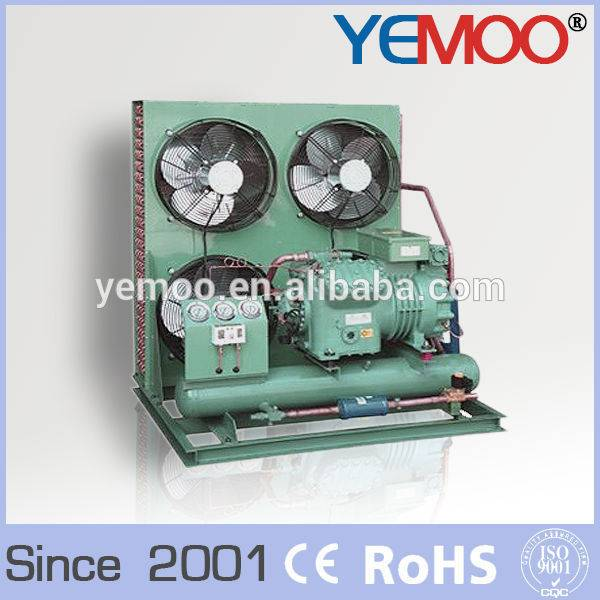 Hangzhou Yemoo bitzer r404a 5hp compressor condensing unit for cold room storage