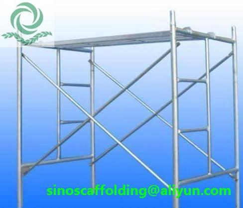Steel H Frame Scaffolding shoring frame scaffolding ladder frame for construction