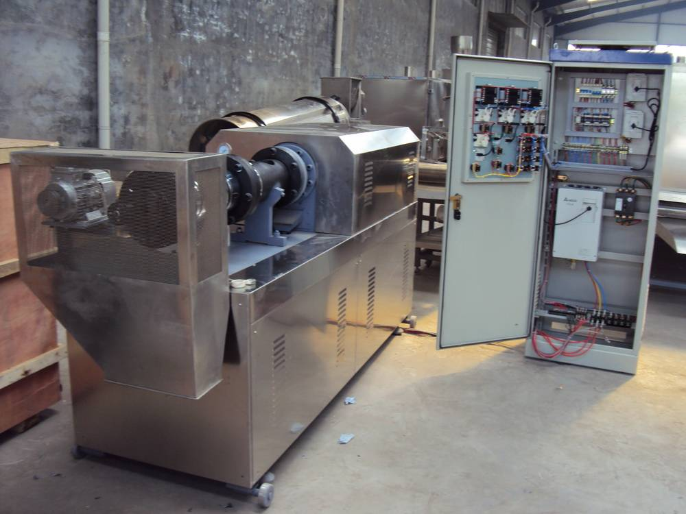 textured soy protein processing machine
