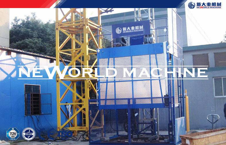 Construction lifting equipment SC200 / 200 Building with single or double cage