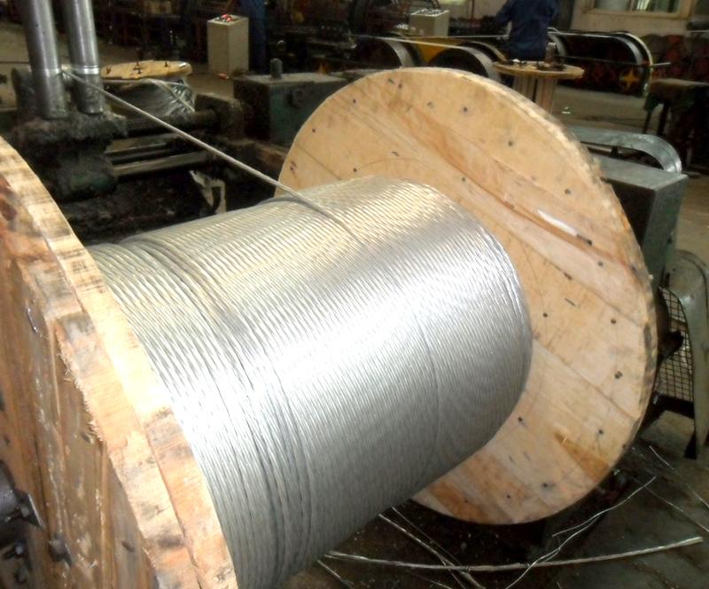 7/19/37 galvanized steel strand