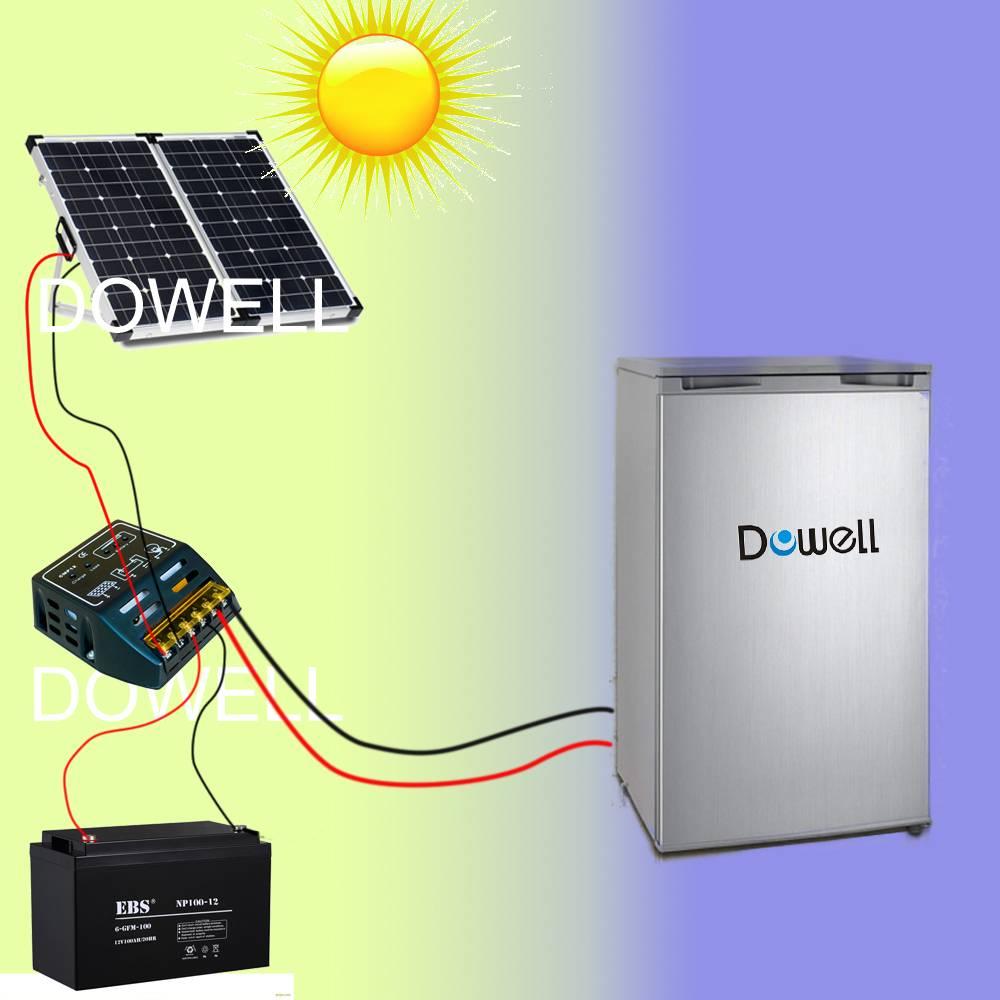 12V DC solar fridge