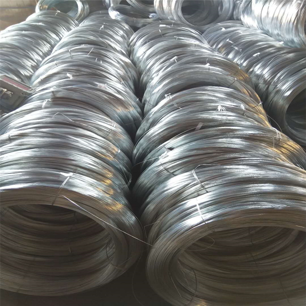 Q-195 HDG 1.2-2.0mm Steel Wire From China Factory