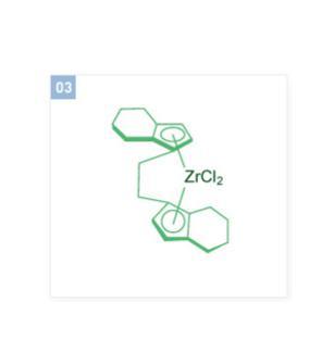 Ethylenebis (tetrahydroindenyl) zirconium dichloride