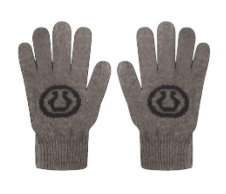 Various RAFF Pattern Premium Lamb Wool Gloves 5 Conductive Fingertips Various colors