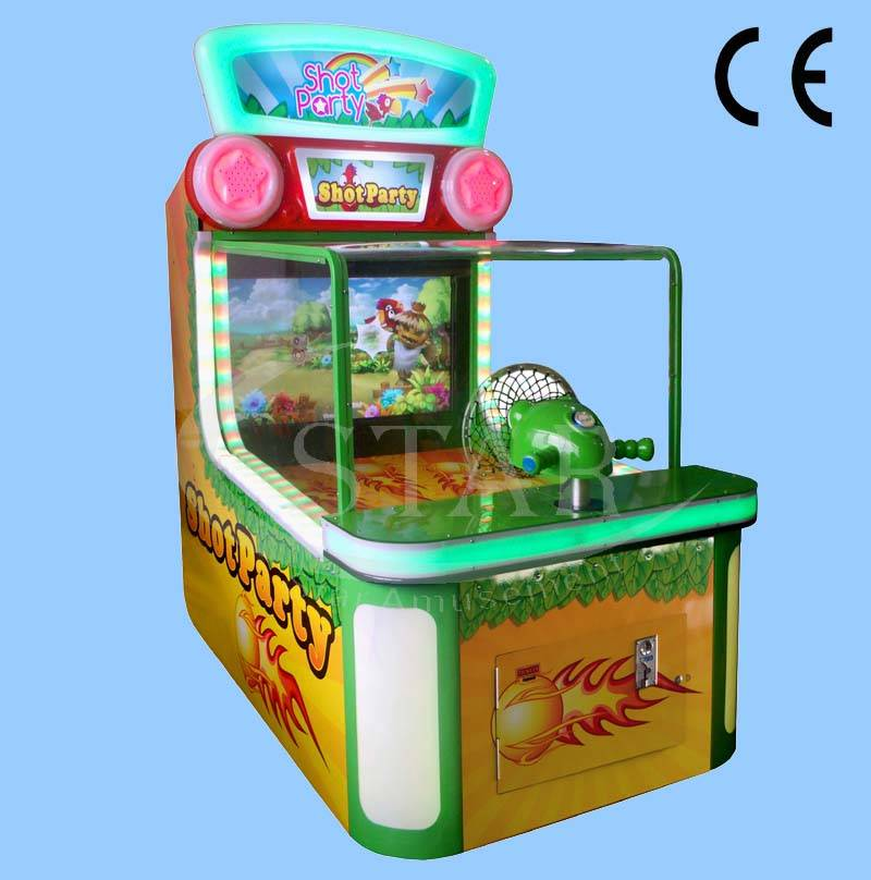 Shot Party--- Hot Sale Game Machine/ Shooting Indoor Arcade Machine