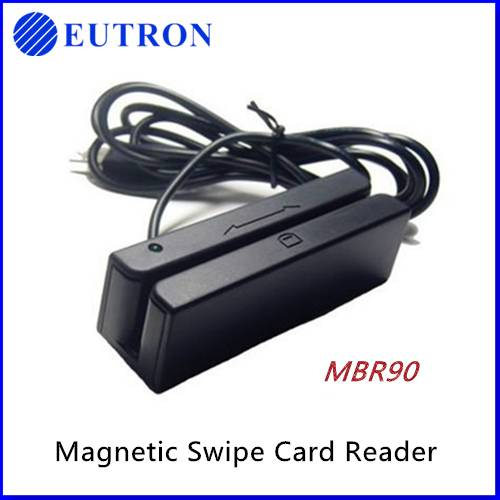 Customized 3 tracks mini magnetic card reader writer