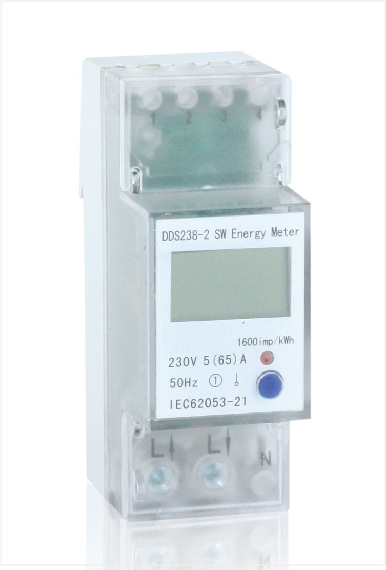 Single phase din rail multi-function energy meter, Type DDS238-2 SW