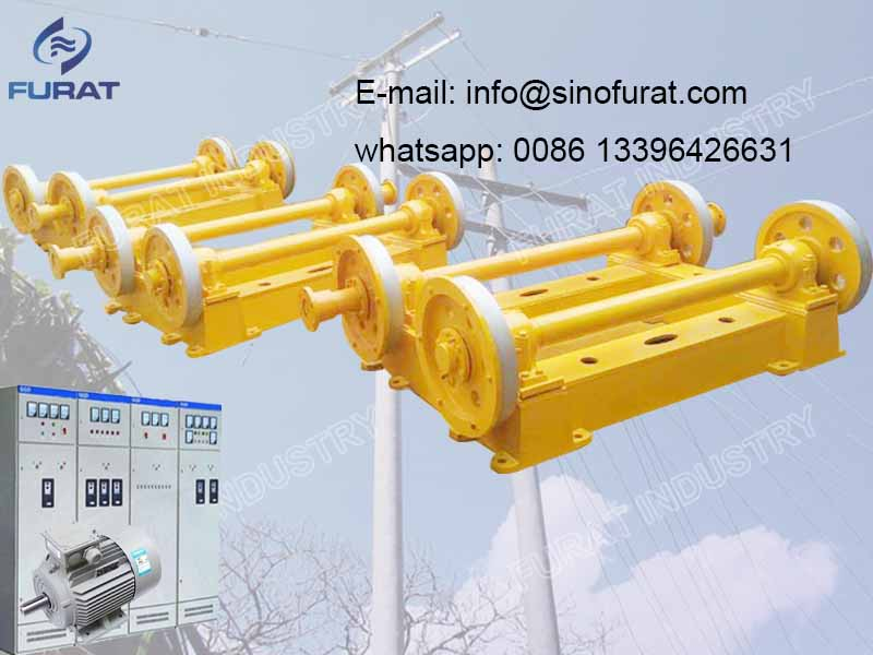 Centrifugal Spinning Machine For Concrete Electricity Pole Plant