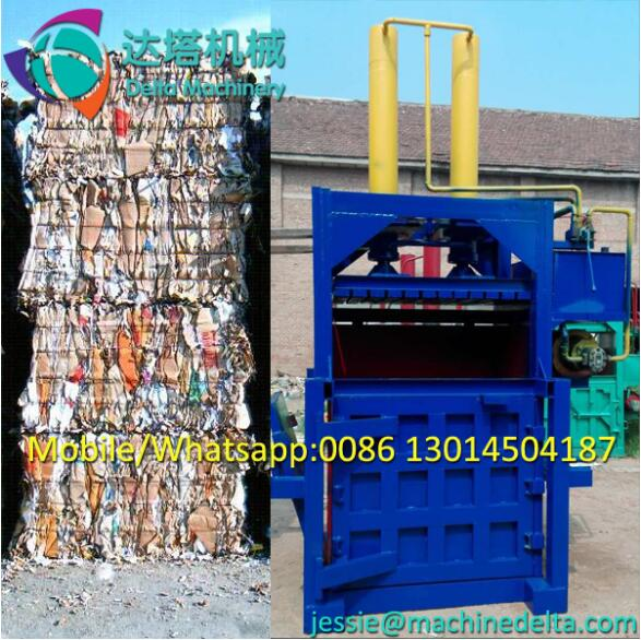 baler for waste paper and cardboard/waste paper baling machine