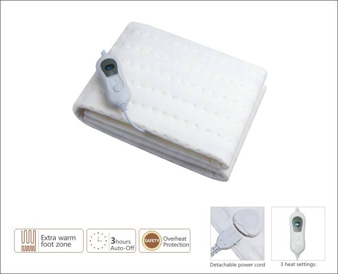 Heating underblanket  with LED displyer