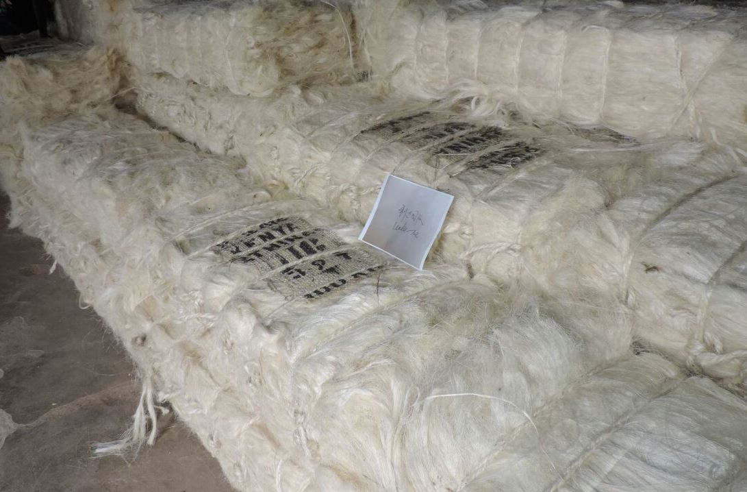 100% Sisal Fiber, Natural Raw Sisal Fiber
